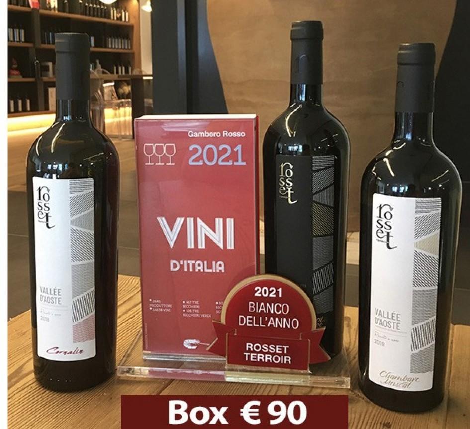 box 3 Vini Valle D'Aosta - Rosset Terroir