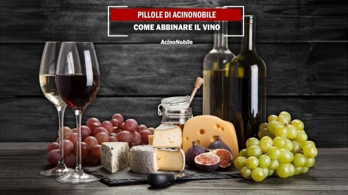 Gli abbinamenti cibo-vino di AcinoNobile