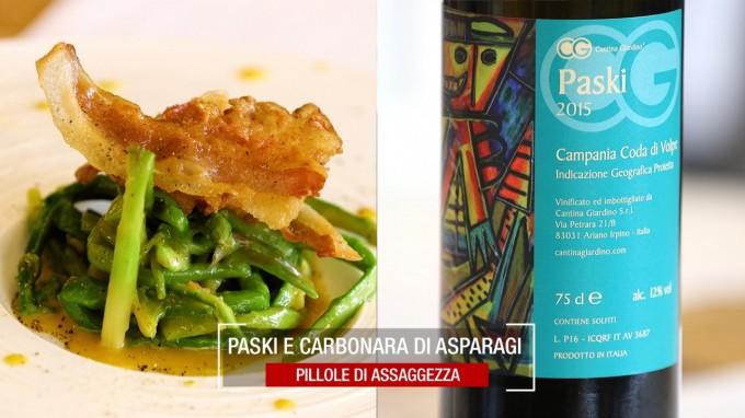 Carbonara di Asparagi e Paski