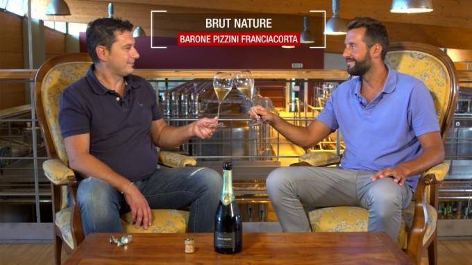 La degustazione del Barone Pizzini Brut Nature Millesimato 2013 Bio - Franciacorta DOCG