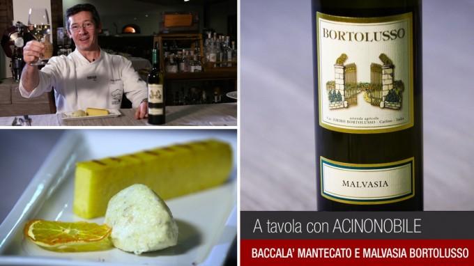 """Malvasia e Baccalà """"al Fogher"""""""