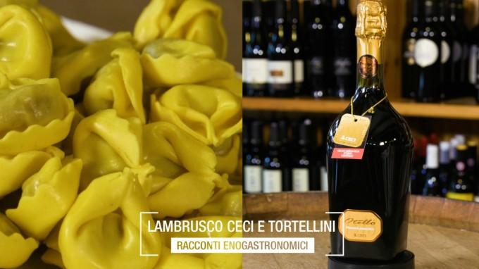 Lambrusco CECI e Tortellini