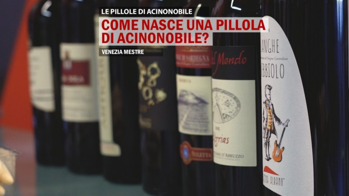 Come Nasce una Pillola di AcinoNobile?
