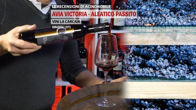 🍇🎅🏻 AVIA VICTORIA | ALEATICO PASSITO | LA CARCAIA