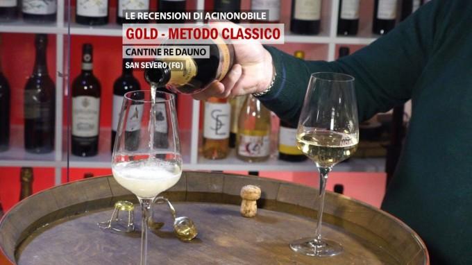 Gold | Metodo Classico | Cantine Re Dauno | Puglia