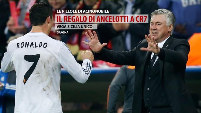 Vega Sicilia Unico | Il regalo di Ancelotti a Ronaldo