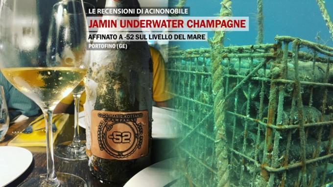 Jamin Underwater Champagne | Portofino | Affinato a -52 sul livello del mare