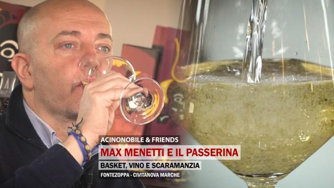 Max Menetti e il Passerina | Basket, Vino e scaramanzia