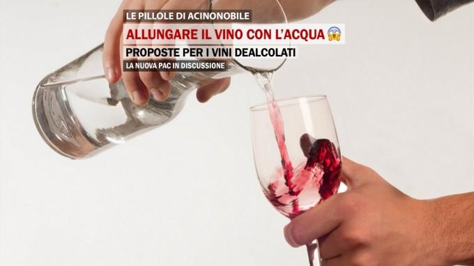 Acqua e Vino | La proposta per i Vini dealcolati