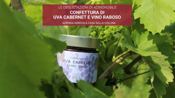 Confettura di Uva Cabernet e Vino Raboso