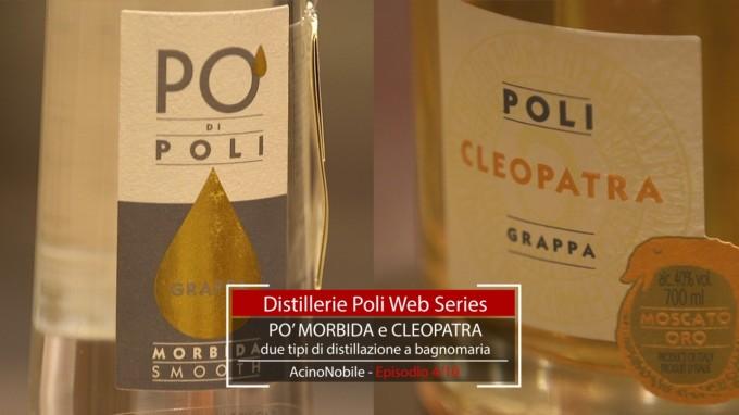 Poli: Le Grappe Distillate a Bagnomaria